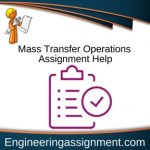 Mass Transfer Operations