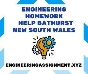Engineering Homework Help Bathurst New South Wales
