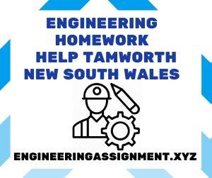 Engineering Homework Help Tamworth New South Wales