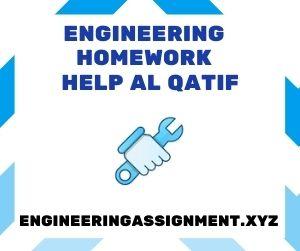Engineering Homework Help Al Qatif
