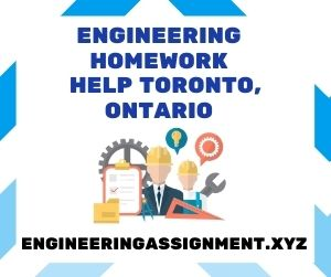 Engineering Homework Help Toronto Ontario